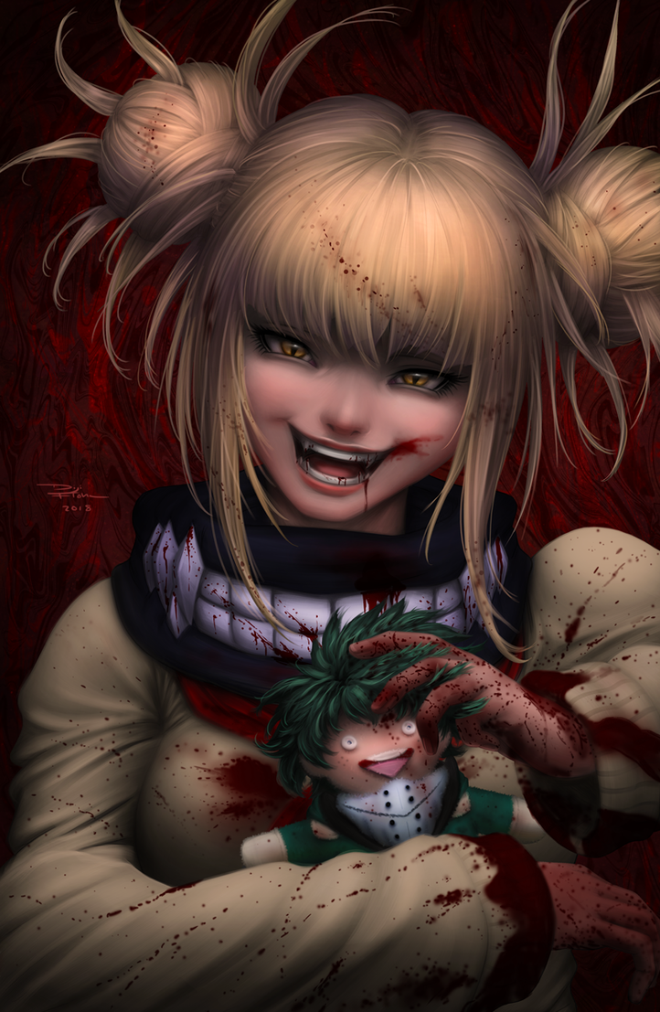 Toga Himiko (My Hero Academia) by DigiFlohw