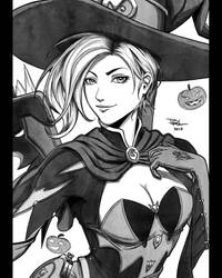 21 - Witch Mercy by DigiFlohw