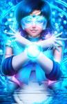 Adept Warrior (Sailor Mercury) by DigiFlohw