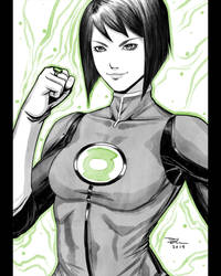 01 - DCAU Green Lantern (Jessica Cruz)