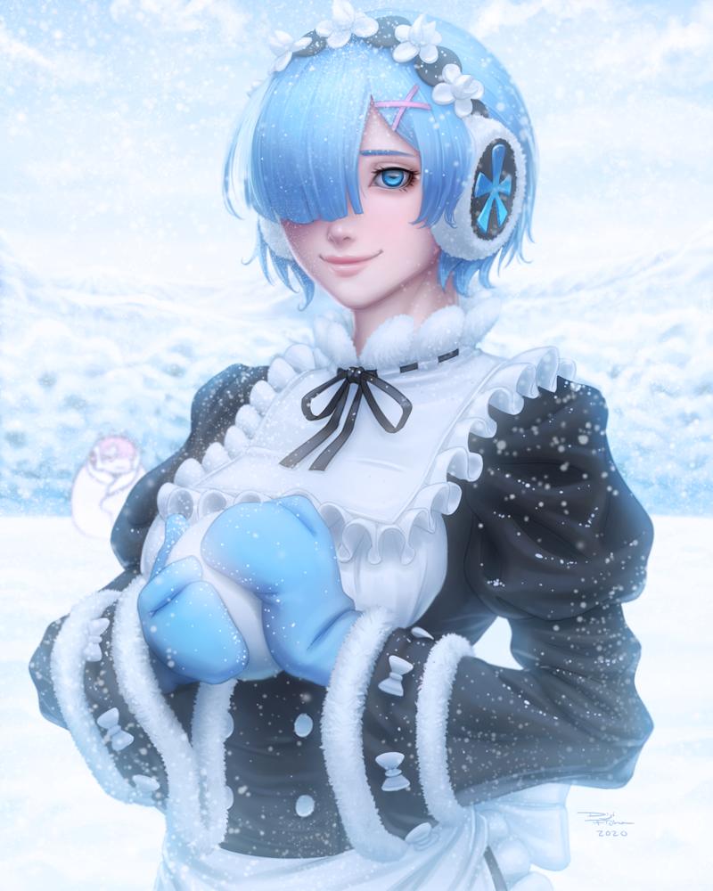 Winter Rem (Re:Zero Memory Snow)
