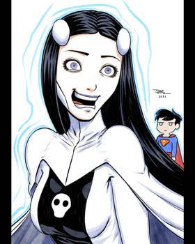 Arttrober 15 - Phantom Girl (DC)