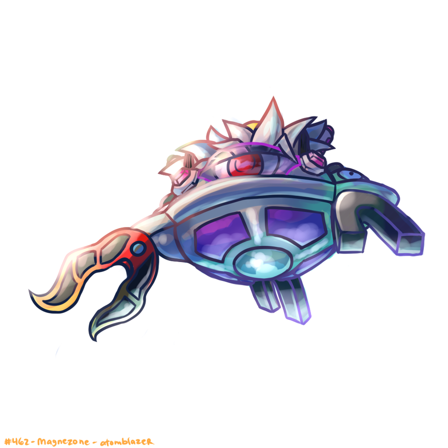 Magnezone by MellowMeloetta on - 61.6KB