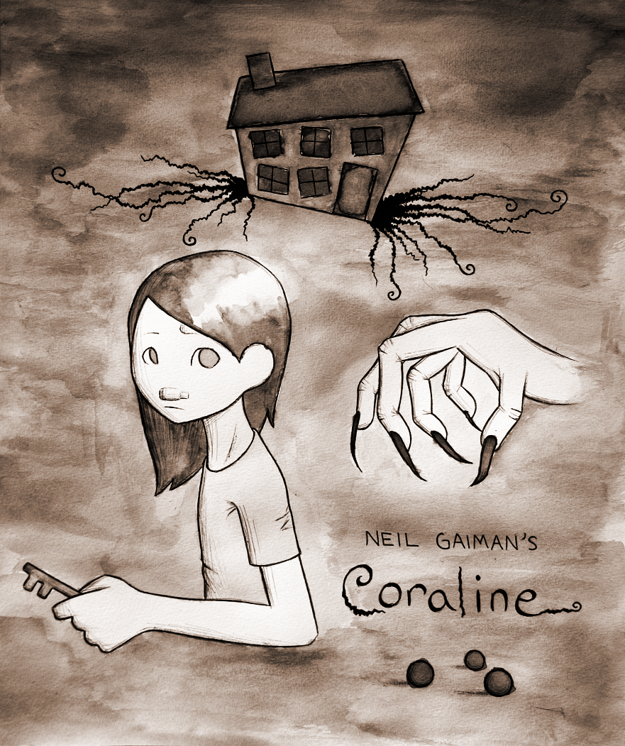coraline by minku