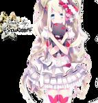 Cute Anime Girl Render