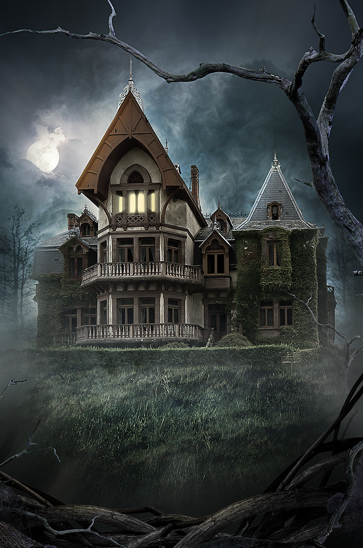 Haunted House By Neostockz On Deviantart