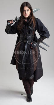 Liepa Medieval Assassin 54 - Stock Photography