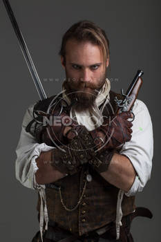 Karlos Steampunk Adventure 120 - Stock Photography