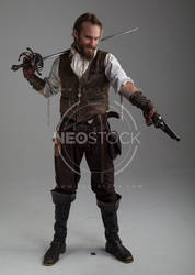 Karlos Steampunk Adventurer 46 - Stock Photography