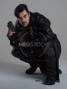Danny Cyberpunk Detective 153 - Stock Photography