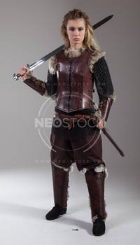 Pippa Medieval Warrior 71 - Stock Photography
