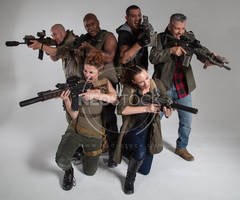 Post Apocalyptic Group 51 - Stock Photography