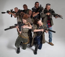 Post Apocalyptic Group 50 - Stock Photography