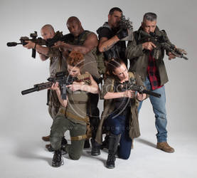 Post Apocalyptic Group 49 - Stock Photography