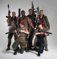 Post Apocalyptic Group 48 - Stock Photography