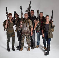 Post Apocalyptic Group 47 - Stock Photography