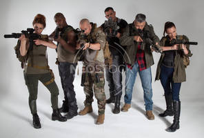 Post Apocalyptic Group 46 - Stock Photography