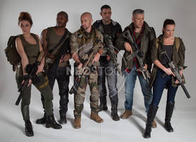 Post Apocalyptic Group 45 - Stock Photography by NeoStockz