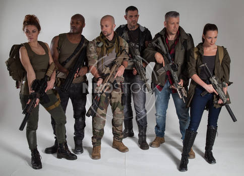 Post Apocalyptic Group 45 - Stock Photography