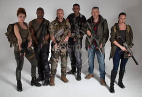 Post Apocalyptic Group 44 - Stock Photography by NeoStockz