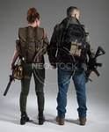 Post Apocalyptic Group 41 - Stock Photography