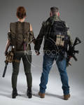 Post Apocalyptic Group 40 - Stock Photography