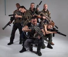 Post Apocalyptic Group 21 - Stock Photography by NeoStockz