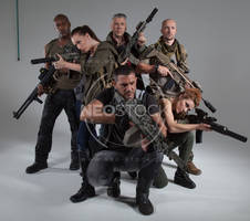 Post Apocalyptic Group 20 - Stock Photography by NeoStockz