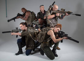 Post Apocalyptic Group 19 - Stock Photography by NeoStockz