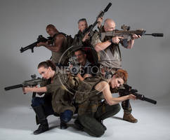 Post Apocalyptic Group 18 - Stock Photography by NeoStockz