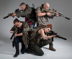 Post Apocalyptic Group 16 - Stock Photography by NeoStockz