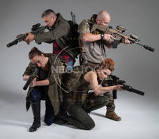Post Apocalyptic Group 15 - Stock Photography by NeoStockz