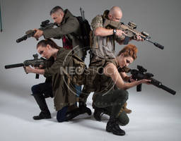 Post Apocalyptic Group 14 - Stock Photography by NeoStockz