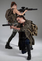 Post Apocalyptic Group 8 - Stock Photography by NeoStockz