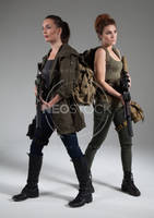 Post Apocalyptic Group 5 - Stock Photography by NeoStockz