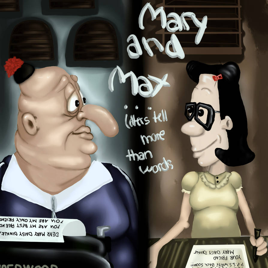 Mary And Max By Janeholiday On Deviantart