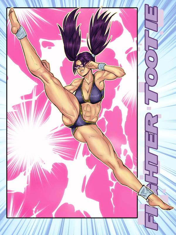 Tottie High Kick Color by mangapym