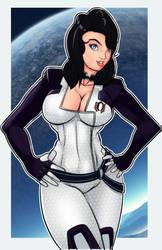 Miranda Lawson by mangapym