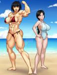 Fumiko and Akane