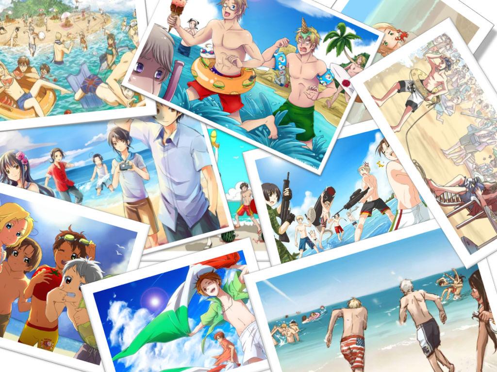 Hetalia Axis Powers: Best Vacation EVER by Nuchia99