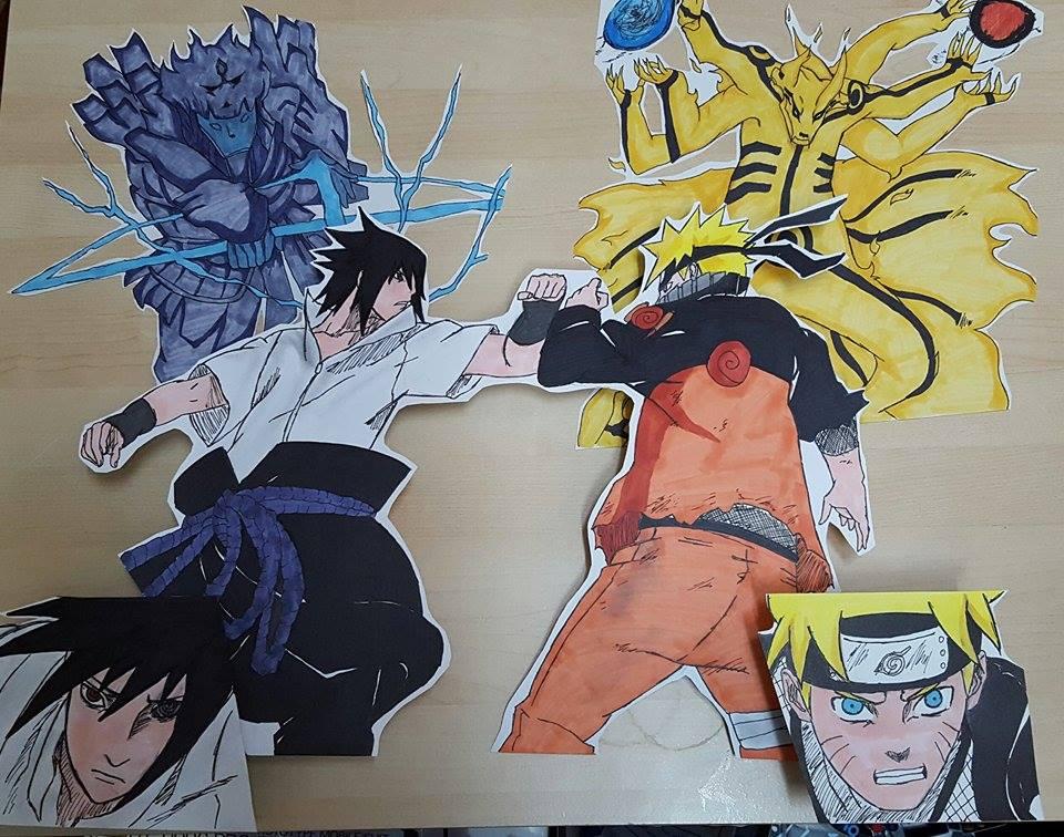 Naruto VS Sasuke: Final Battle by RailGunX on DeviantArt