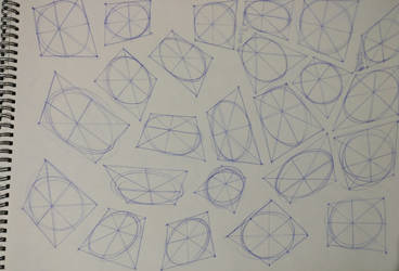 Study - Perspective and Ovals