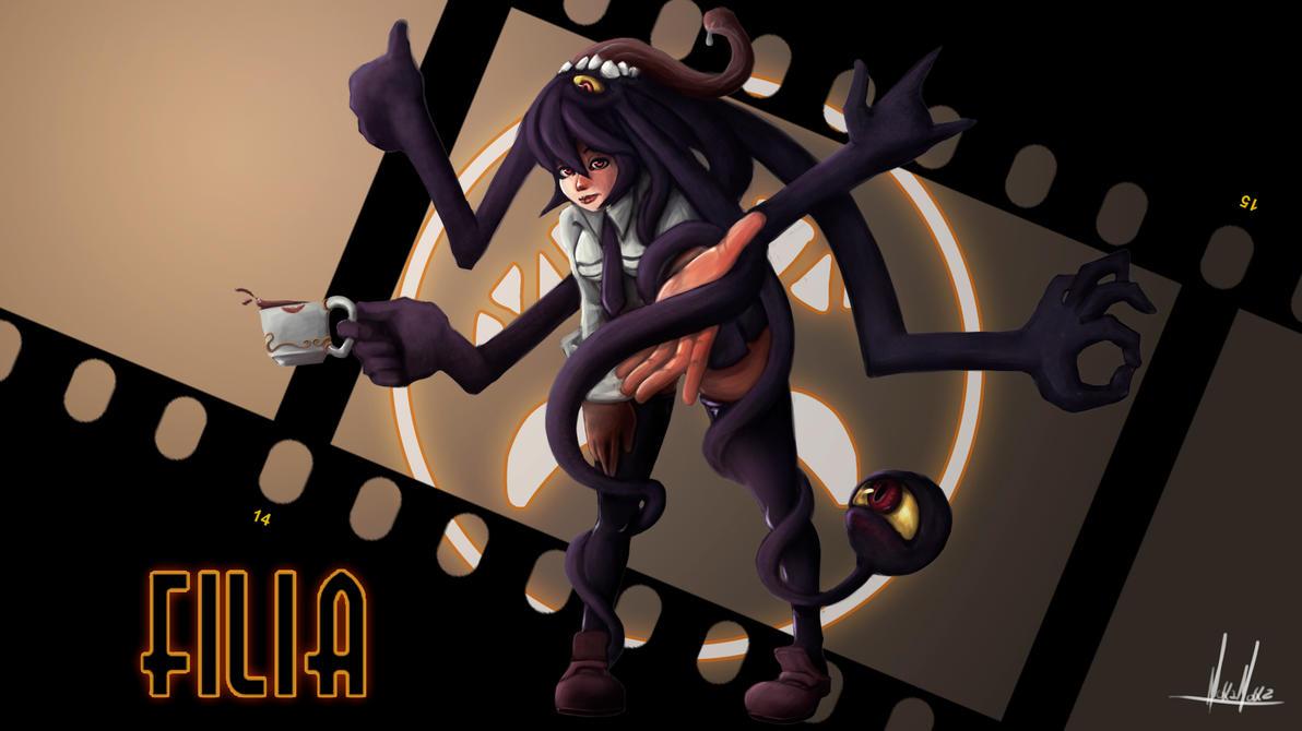 Filia by Pryce14 | Video Games | Pinterest | deviantART ...