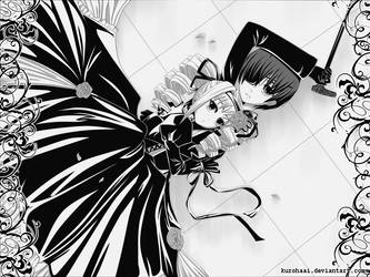 AT: Monochrome by KurohaAi