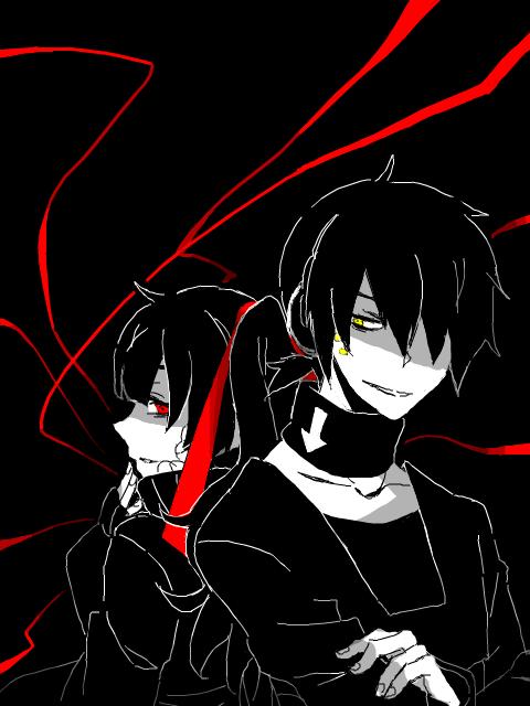 black by KurohaAi
