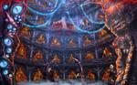 Hive ship's stasis pods