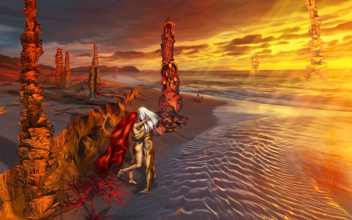 On a alien shore by exobiology