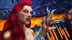 Wraith Queen Sally by exobiologyart