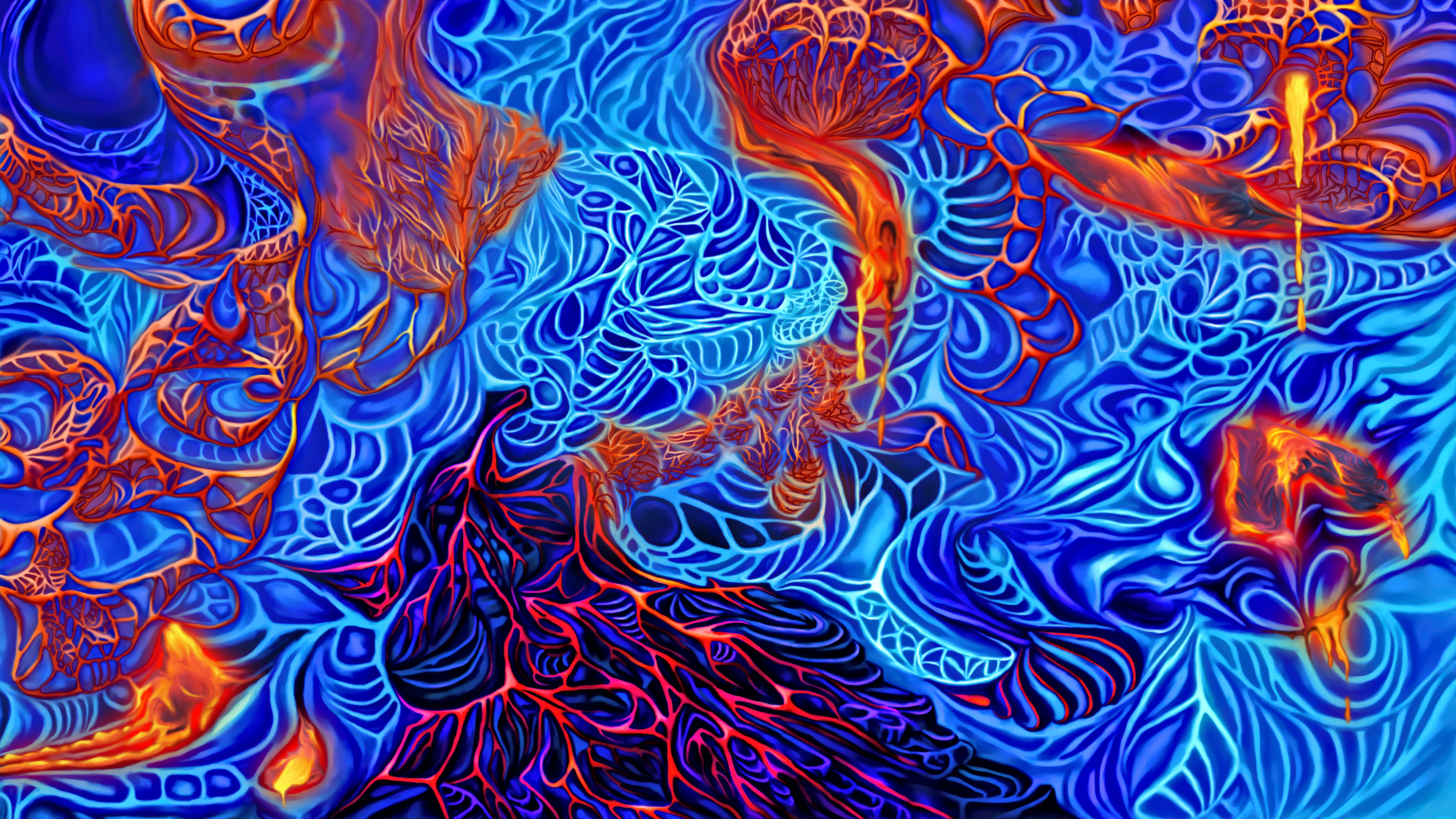 Lava cave abstraction by exobiology