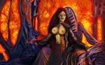 Domination queen by exobiologyart